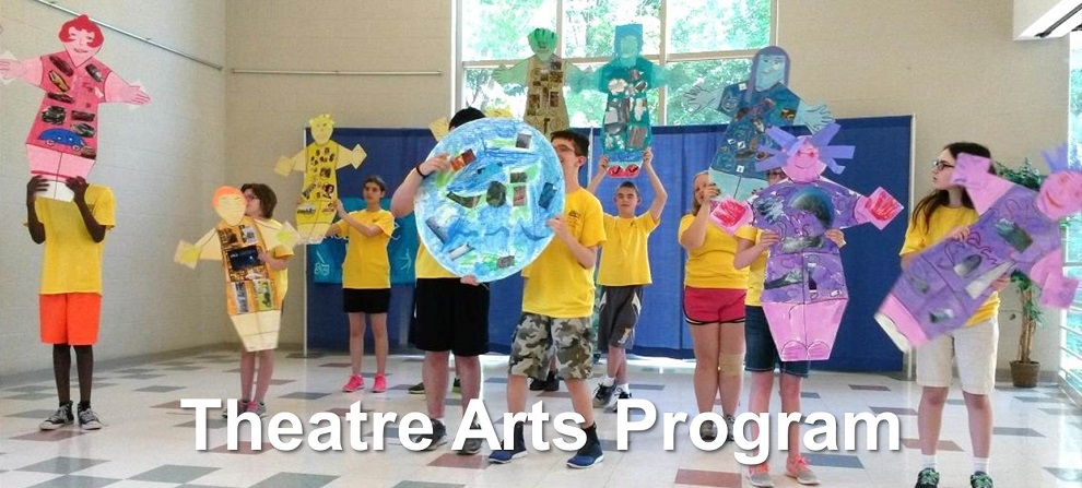 Camp theatre arts program