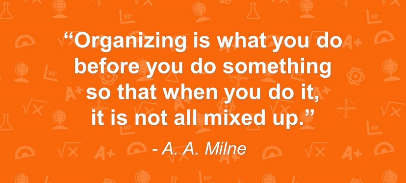 Organizational Quote by A. A. Milne