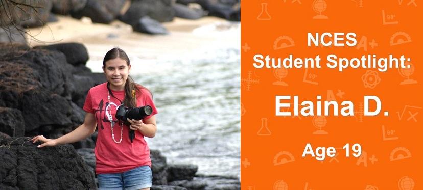 Elaina D., NCES Student